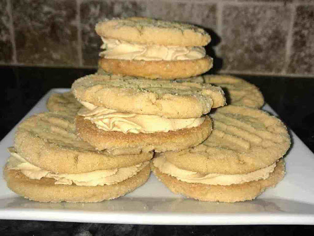 The Best Peanut Butter Sandwich Cookies