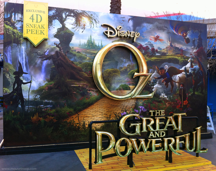 Mouse Troop: February 2013 Oz The Great And Powerful Cast Members