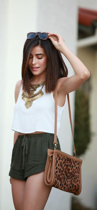 Casual Chic Summer Outfits to Try #SummerOutfits