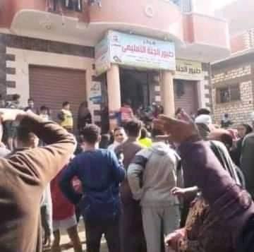 عصابة تتهجم على روضة أطفال بإحدى قرى بني مزار بالمنيا