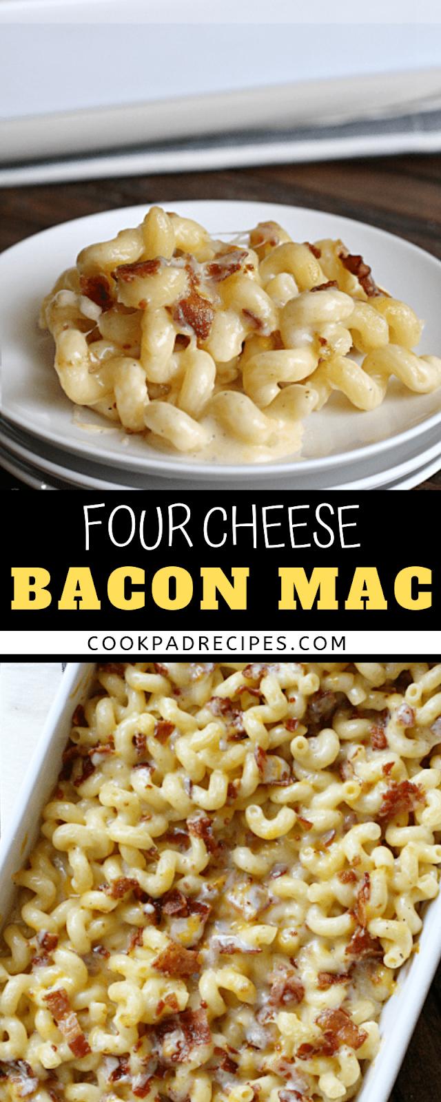 Fоur Chееѕе Bacon Mac