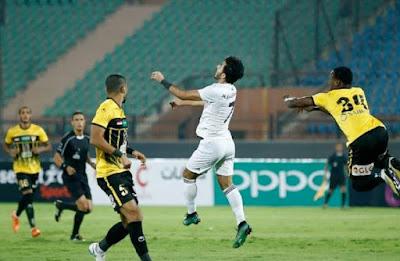 ملخص اهداف مباراة انبي والانتاج الحربي (1-1) الدوري المصري