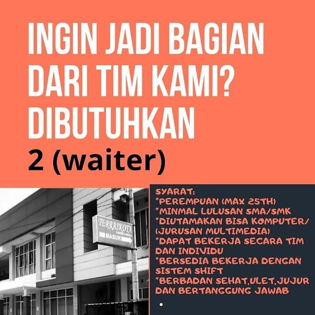 2 Lowongan Kerja Posisi Waiter Teraskota Coffee And Resto Rembang