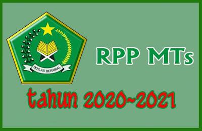 RPP MTs 1 Lembar Tahun 2020