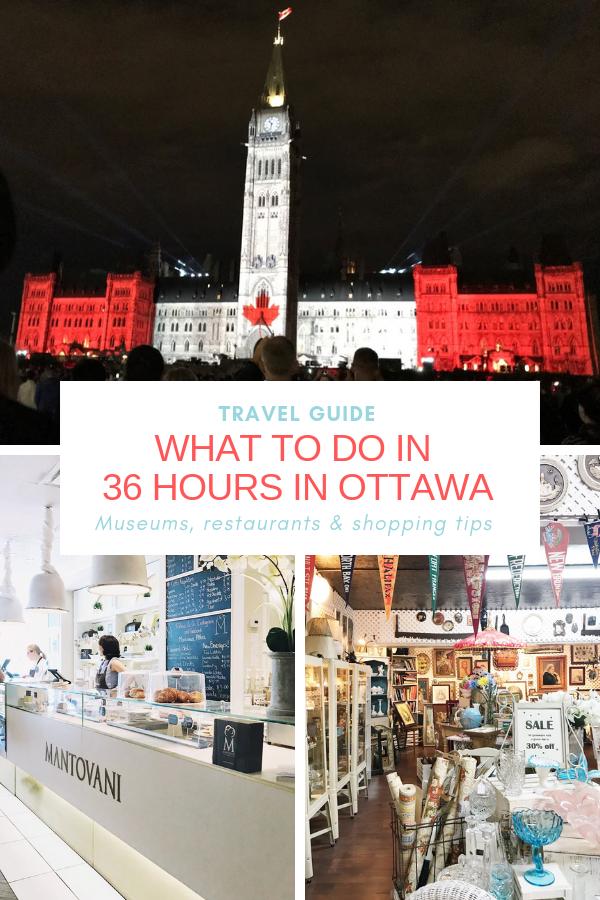 ottawa travel guide, ottawa thrift shop, canada day lights parliament hill
