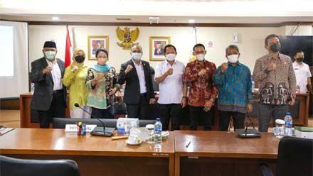 Komite I DPD RI dengan Mendagri