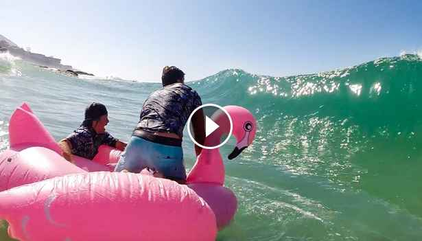 SHOREBREAK YOURSELF - Pool toys and softboards at Aliso