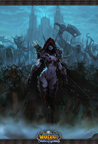 """In many depictions even the heavy Armour ones. Lady War Chief Sylvanus has a """"come f*ck me"""" look."""