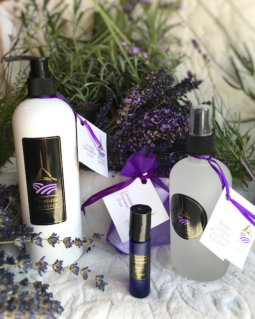 Lavender Products for the Body handcrafted by Pelindaba Lavender
