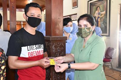Jelang Penerapan New Normal, Dharma Pertiwi Koorcab Surakarta Daerah D  Gelar Rapid Test Gratis