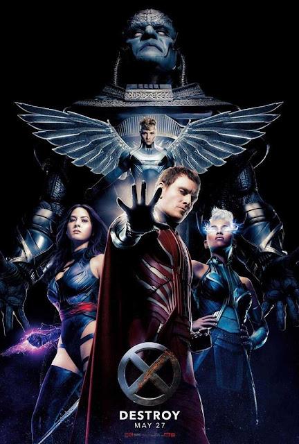 Contenido extra del Blu-ray de X-Men: Apocalypse