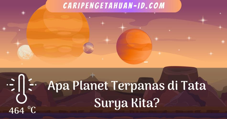 Planet Venus, planet terpanas