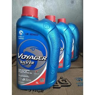 Oli Adnoc Silver Voyager Asli Import dari Arab Cocok Untuk Balap Motor 10W/40 isi 1 liter