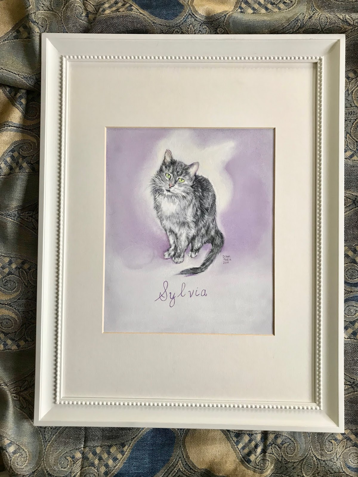Personalized Pet Portrait Pastel Paintings