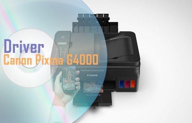Driver Canon Pixma G4000