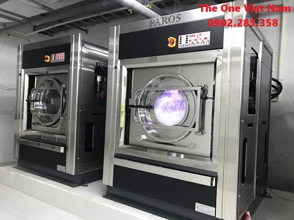 Máy giặt công nghiệp cho công ty may