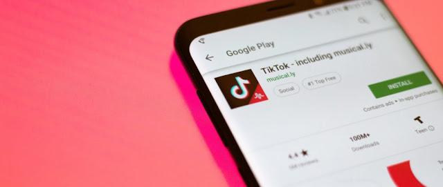 Tiktok app trending