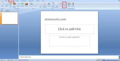 Cara Memasukkan File PDF ke Presentasi PowerPoint