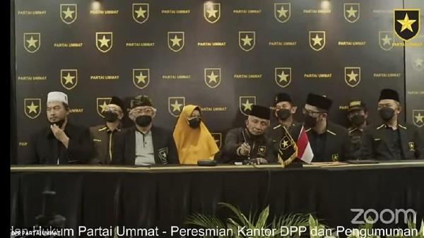 Resmi Jadi Parpol, Partai Ummat Siap Bertarung di Pemilu 2024