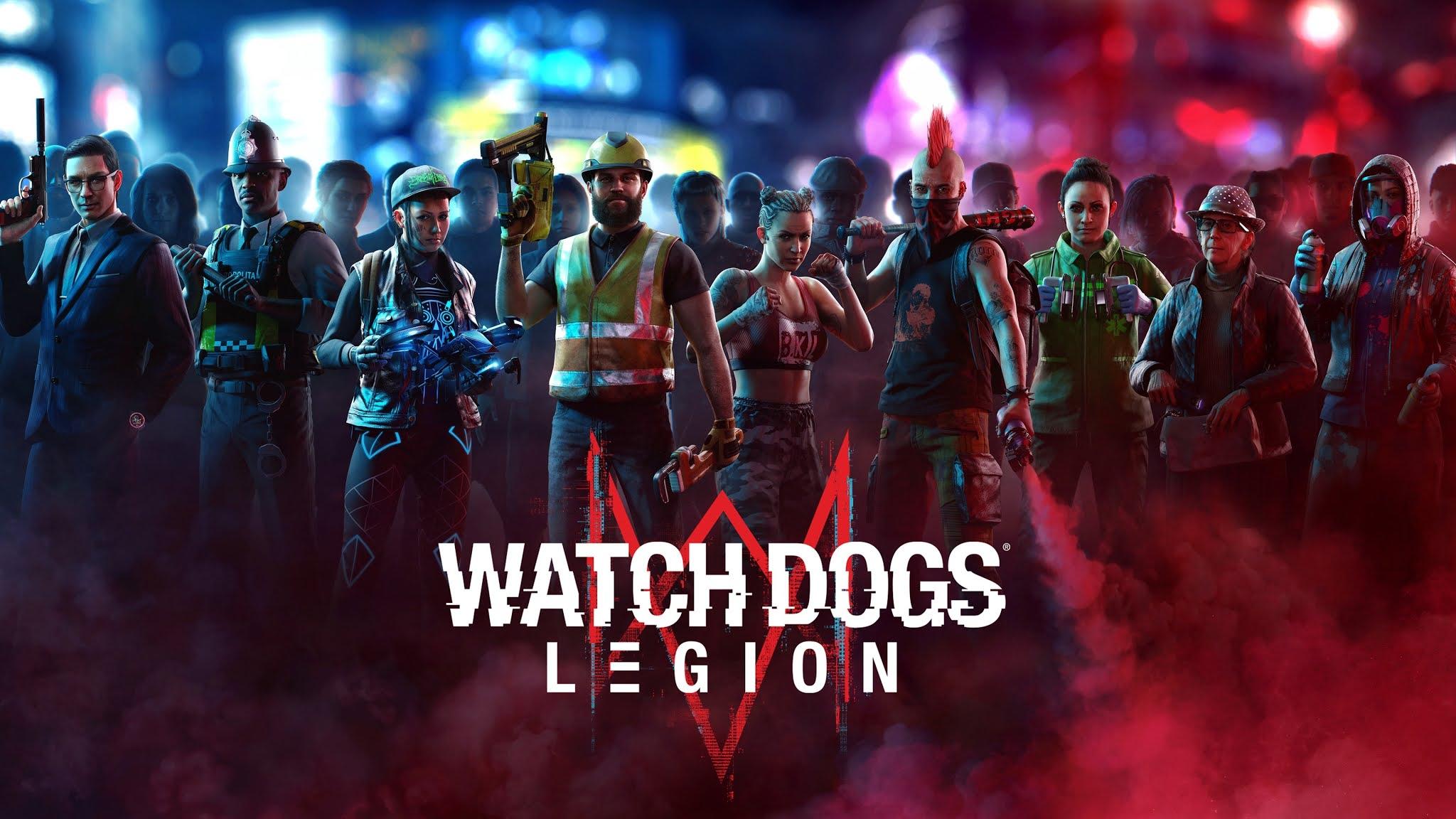 Watch Dogs Legion Wallpaper