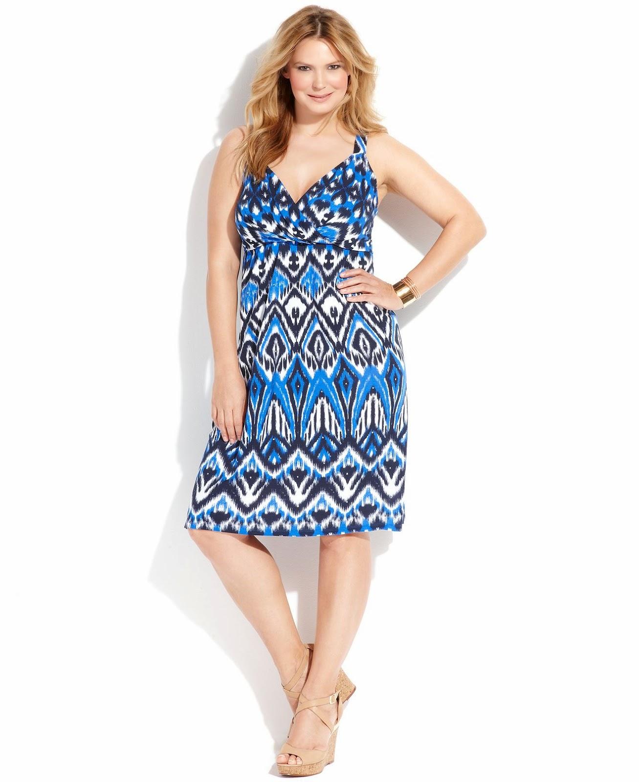 Modelos de vestidos verano para gorditas