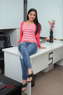 Telugu Actress Mouryani Latest Pos in Blue Denim Jeans  0089.JPG