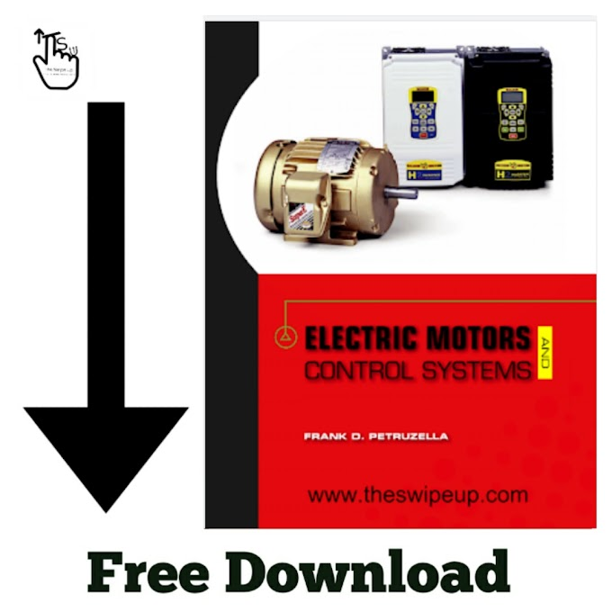 Free Download PDF Of Electric Motors And Control Systems