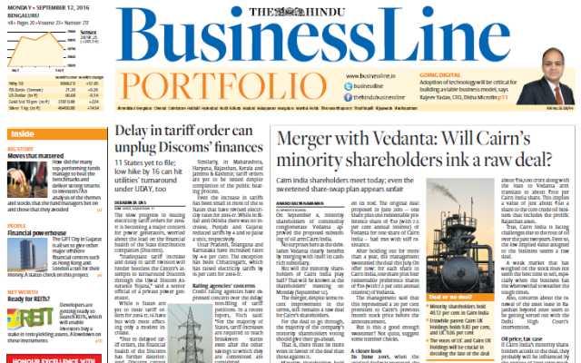 Best Business Newspapers In India 2019  BusinessLine WealthyEra