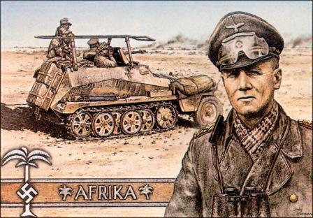 Resultado de imagen para Rommel (el Zorro del Desierto)