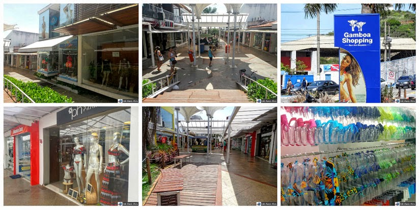 O que fazer em Cabo Frio - Rua dos biquínis