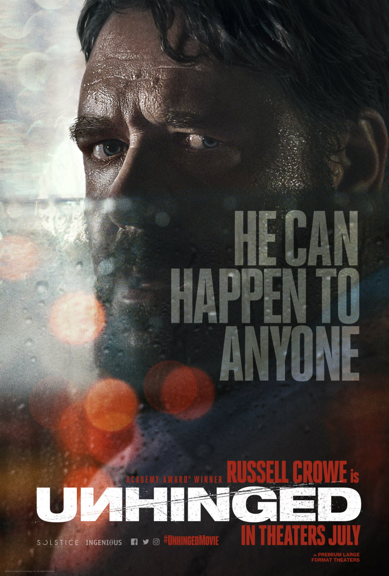 unhinged russell crowe poster