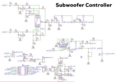 Subwoofer Controller Frequency Phase & Booster