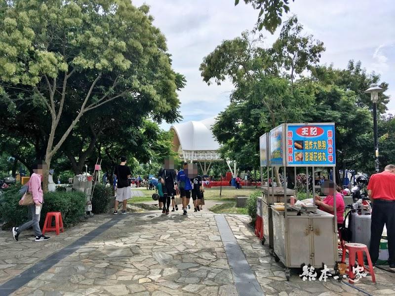 桃園南崁光明河濱公園天幕球場|親子草地野餐音樂會|還巧遇愛玩客吳鳳