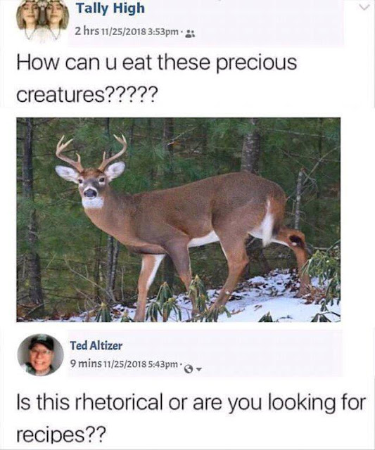 Serious question though