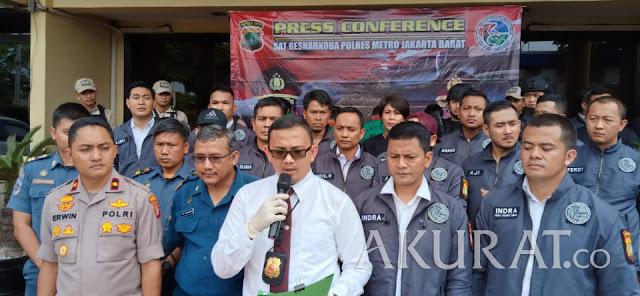 Pengungkapan 44 Kilogram Sabu oleh Jajaran Polres Jakbar Menjadi yang Terbesar di 2018