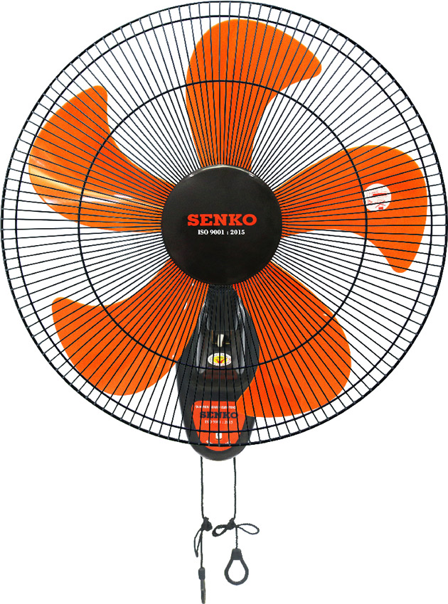 Quạt treo Senko TC1880 Đen cam