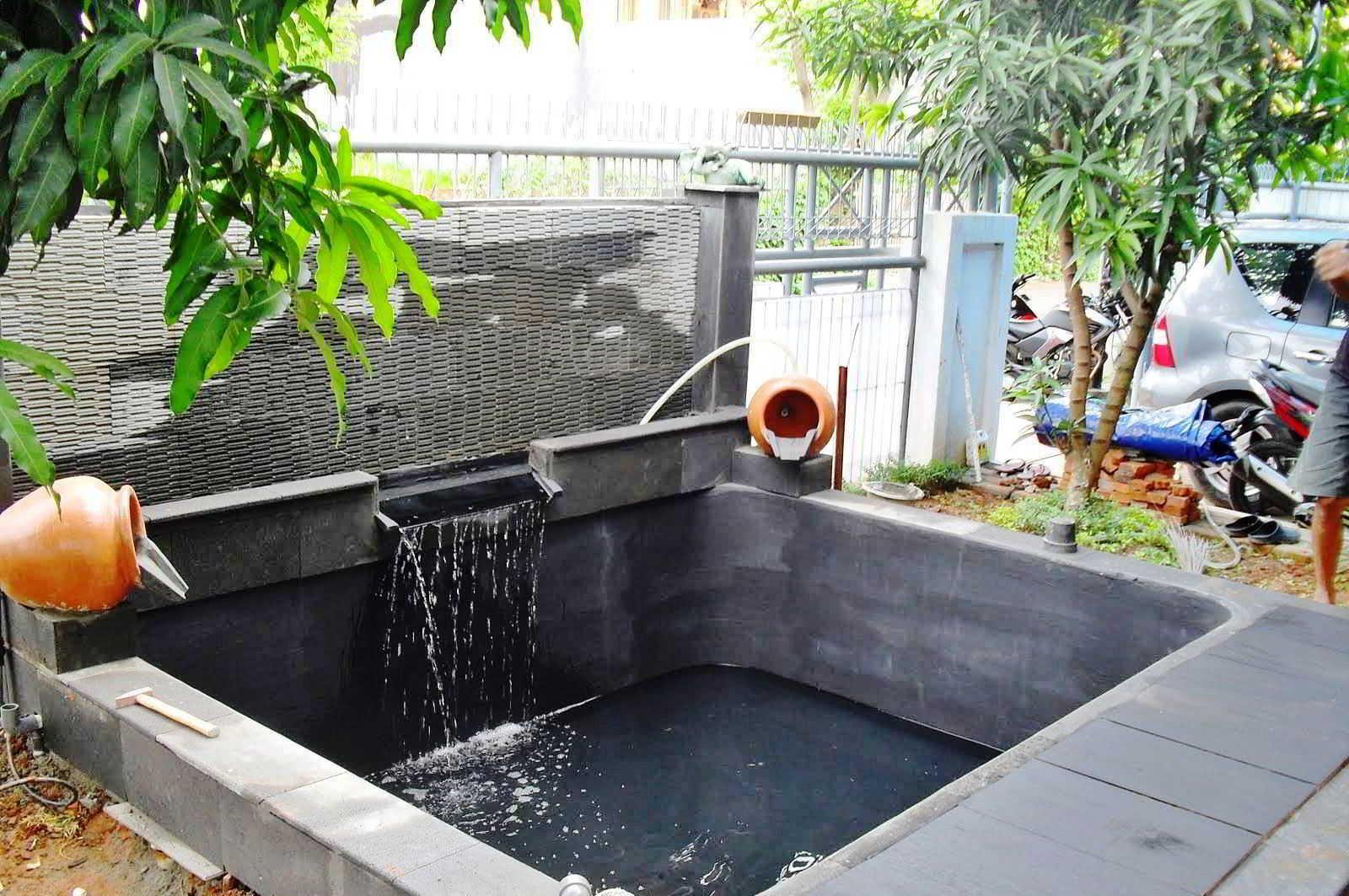 Rumah Minimalis Ada Kolam Ikan  Sobhome