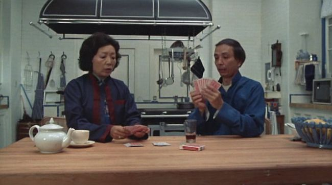 James Hong and Beulah Quo in Yes, Giorgio