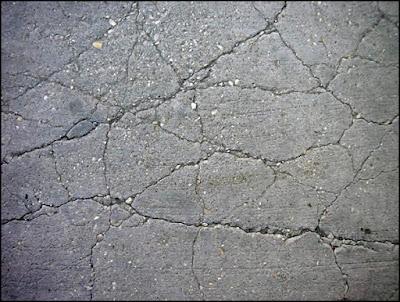 piso com rachadura