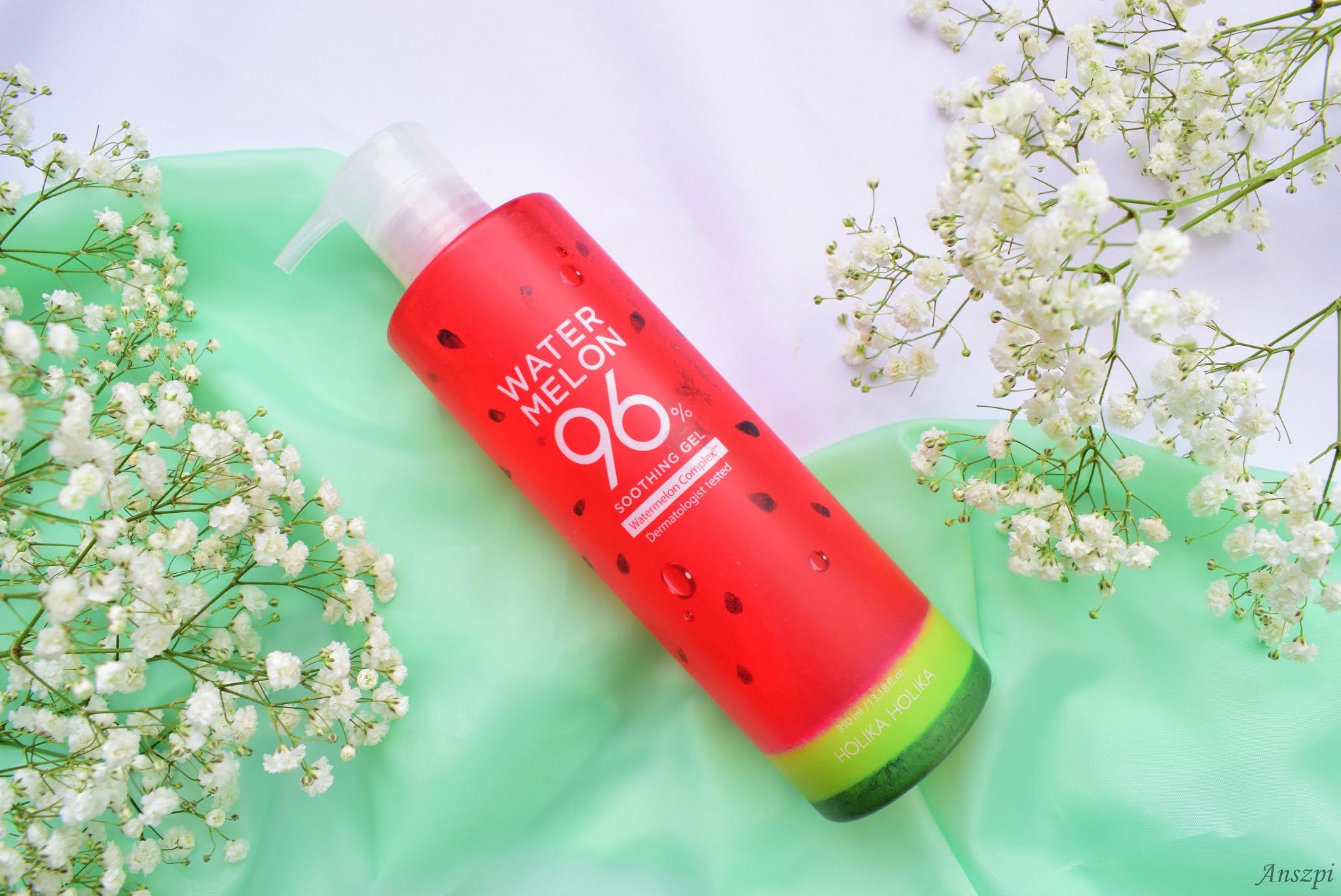 Łagodzący żel do intensywnego nawodnienia i odświeżenia skóry Watermelon Soothing Gel