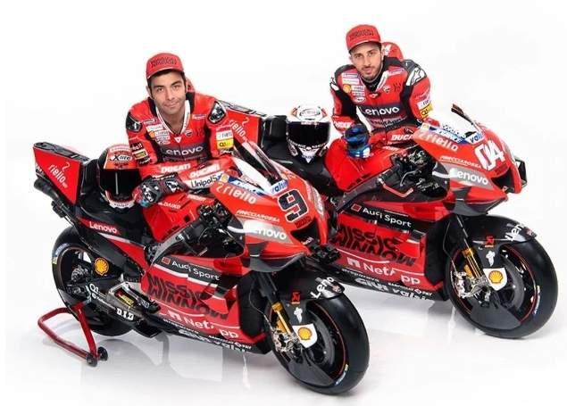 Ducati Corse 2020 Andrea Dovizioso dan danilo Petrucci