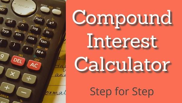 Compound interest calculator | Step by Step - Tooprofit.com