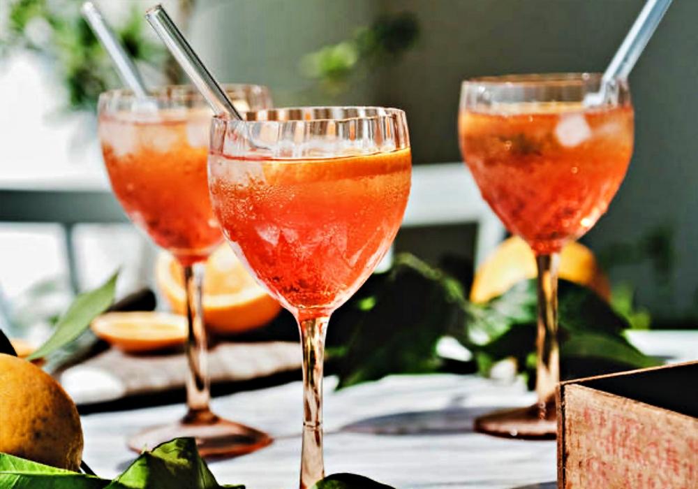 Ein alkoholfreier Aperitif ist immer eine gute Wahl