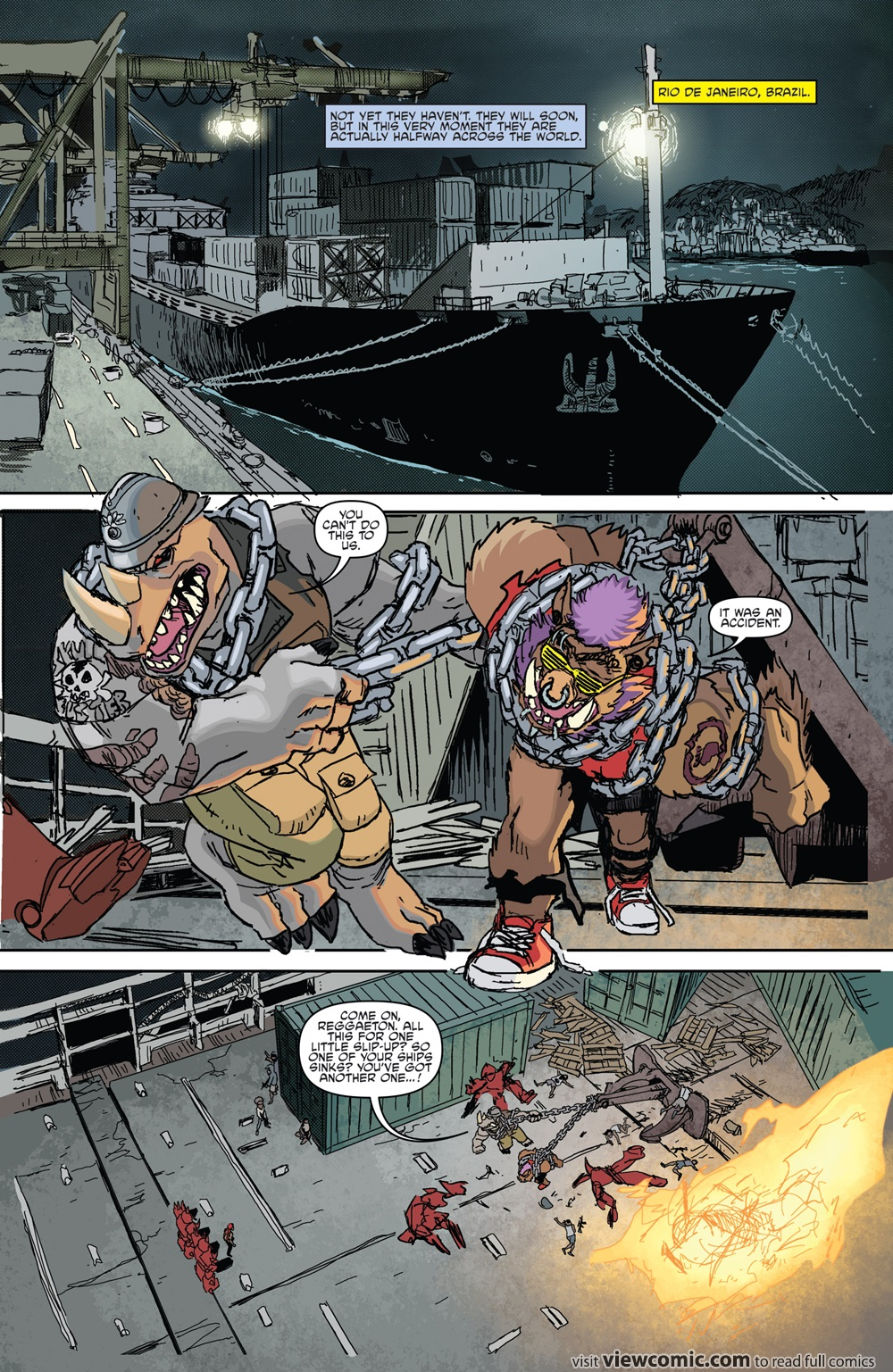 Teenage Mutant Ninja Turtles – Bebop & Rocksteady Destroy Everything