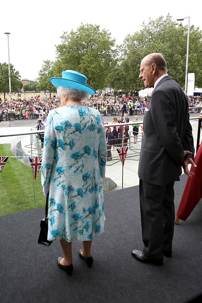 Royal Family Around The World The Queen And Duke Of