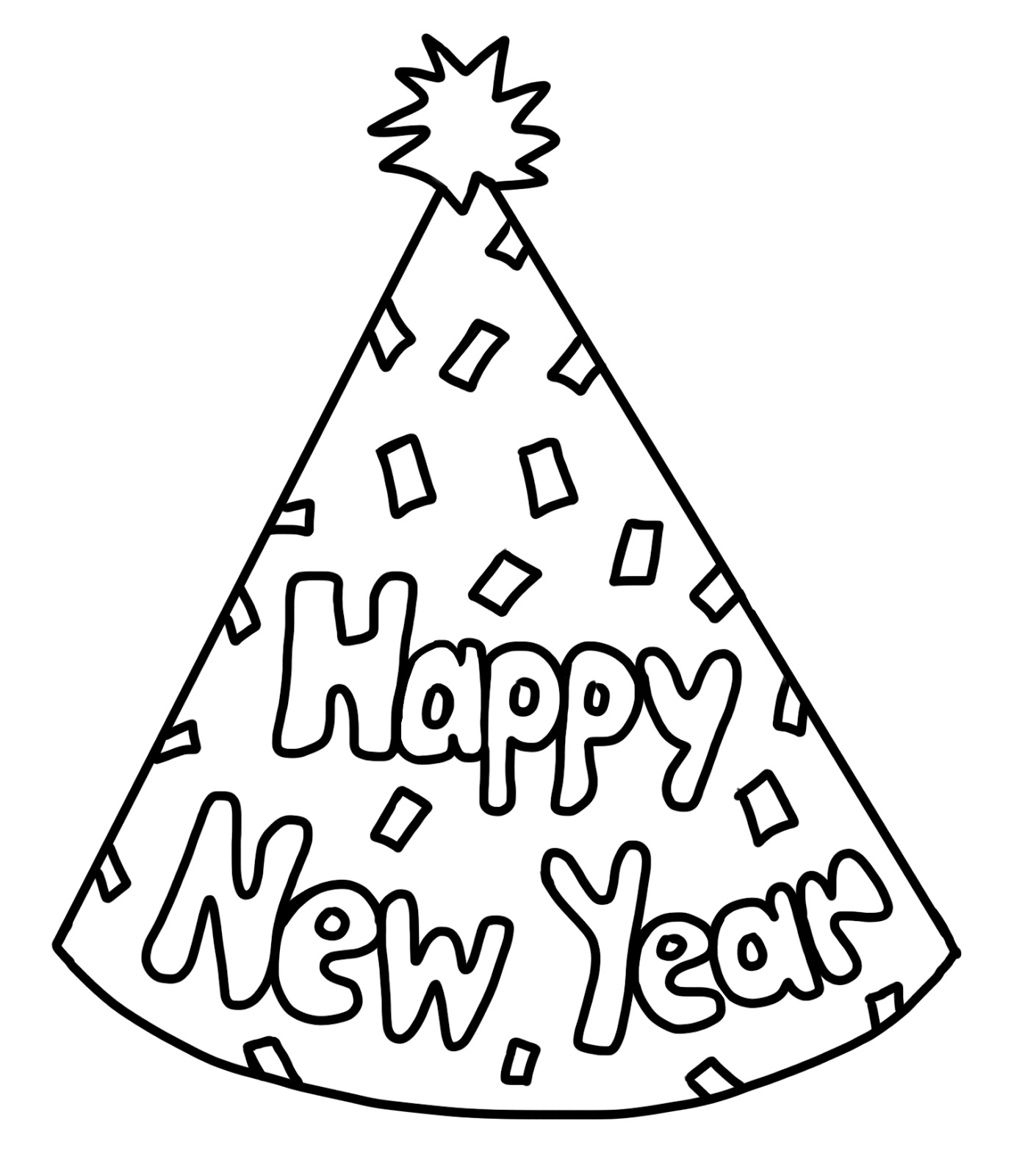 Clip Art By Carrie Teaching First Happy New Year Party