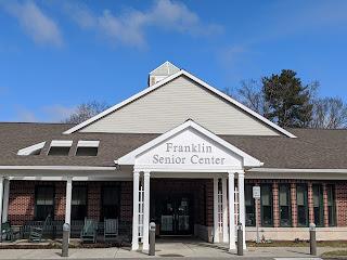 Franklin Senior Center: Email blast Oct 2, 2020