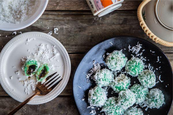 Kue Klepon Cookies, Cocok Nemenin Lihat Sinetron