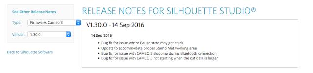 Silhouette cameo 3 pause status, silhouette cameo 3 stuck on pause, Silhouette CAMEO 3 firmware update