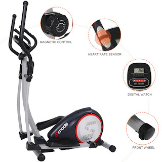 SNODE E20 Elliptical Machine Trainer, image, review features & specifications